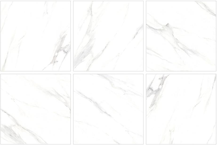 600X600 Cararra Marble Porcelain Tiles Image